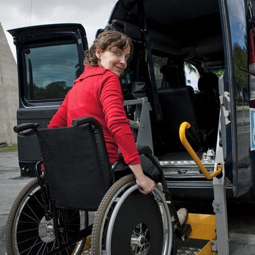 Wheelchair-Transportation